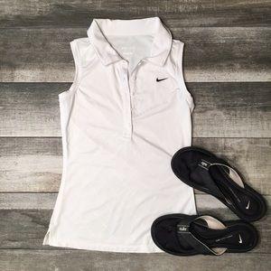 {Nike} Dri-fit golf shirt
